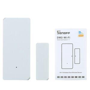 SONOFF DW2 Door Window Sensor Detector WI-FI Wireless Alarm Security System K5J3