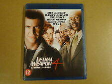 BLU-RAY / LETHAL WEAPON 4 / L'ARME FATALE ( MEL GIBSON, DANNY GLOVER... )
