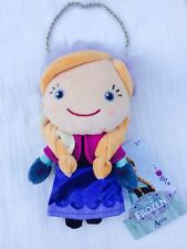 """Authentic Disney Store Frozen PLUSH ANNA DOLL COIN PURSE Toy 8"""" Age 3+ NWT"""