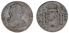 8 SILVER REALES / PLATA. CHARLES IV - CARLOS IV. MÉXICO 1790. VF-/MBC-.