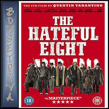 THE HATEFUL EIGHT - Samuel L Jackson & Kurt Russell *BRAND NEW DVD***