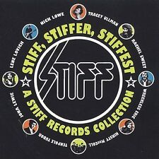 VARIOUS ARTISTS - Stiff Stiffer Stiffest- Stiff Records Collection CD- NEW