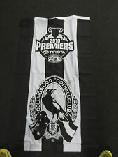 COLLINGWOOD 2010 PREMIERS FLAG SIGNED BY SCOTT PENDLEBURY