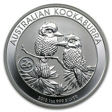 2013 1 oz Silver Australian Kookaburra - Snake Privy