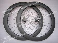 60mm disk brake carbon wheelset,700C full carbon fiber bike wheels 20.5mm width