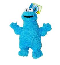 """Sesame Street Blue Cookie Monster 14 """" Plush Backpack Tote- NEW with Tags!"""
