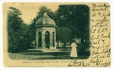 St. Louis MO Henry Shaw Mausoleum, Shaw's Garden 1906 UDB Post Card
