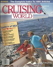 Cruising World December 1991 Safety At Sea/Passage To The Pacific/Stay Afloat