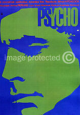Alfred Hitchcock Psycho Vintage Horror Movie Poster 18x24