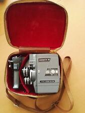 CRONICA 8 ET 8mm Kamera incl. Tasche, Handgriff und Bedienungsanleitung Super 8