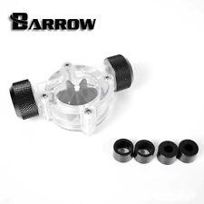 """Barrow G1 / 4 """"FILETTATURA NERO OPACO indicatore flusso contatore dell' acqua di raffreddamento"""