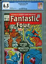 Fantastic Four #106 (Marvel 1971) CGC Certified 6.5
