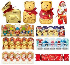 Lindt Christmas Chocolates Gift Present Santa's Bunny Helper Snowman Teddy Xmas