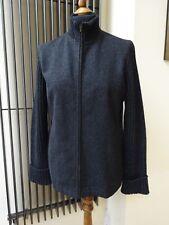 Laura Ashley ladies women's dark grey black  wool jacket Sz 12 UK