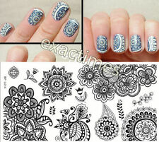 Nagel Schablone BORN PRETTY L014 Nail Art Stamp Stamping Template Plates