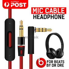 Replacement Audio Headphones Mic Cable 3.5mm Aux Cord Jack For Beats By Dr Dre