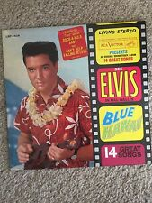 ELVIS BLUE HAWAII W/ STICKER ON COVER LSP-2426  Living Stereo USA PRESSING