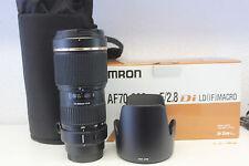 Tamron 70-200mm 2.8 lente para Sony con 1 año garantizar