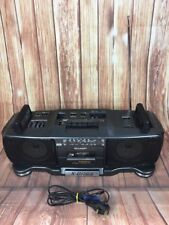 SHARP WQ-T360E (GY) Ghetto Blaster Lettore di cassette Doppio Stereo Radio Boombox