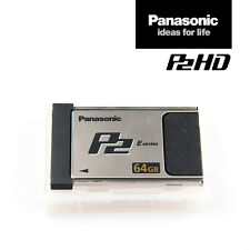 Panasonic card aj-p2e064xg | 64 gb p2 de memoria-tarjeta e-series rápidamente IVA. - RNG.