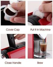 Refillable Capsule Pod for Nespresso Reusable coffee espresso Tea 4thgeneration