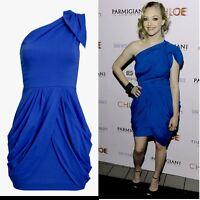 TFNC One Shoulder Dress - Cobalt Party Occasion Dress