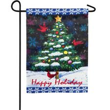 Happy Holidays Garden Flag! MAKE AN OFFER!!!