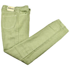 NEW KITON JEANS 100% LINEN SIZE 32 US 48 EU UPNJS LITTLE IMPERFECTION USA23