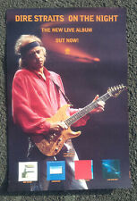 More details for dire straits promotional poster rare christmas