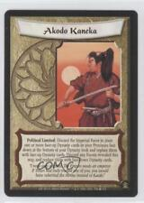 2001 Legend of the Five Rings CCG - Gold Edition #536 Akodo Kaneka Card 0b5