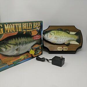 Big Mouth Billy Bass The Singing Sensation Vintage 1999 Gemmy w/ Box