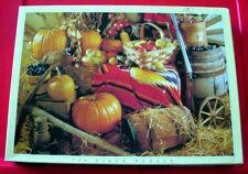 Autumn Harvest 750 PC Puzzle ZUCCHE/mele/uva/frutta/verdura