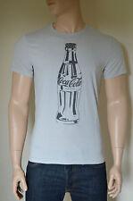 New abercrombie & fitch coca-cola coke bouteille vintage graphic tee t-shirt gris l