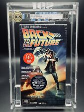 VHS Back to the Future IGS 8.0-7.0 4th Press 1995 McDonald's Promo
