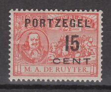 Port 40 MLH ong NVPH Nederland Netherlands 1907 due portzegel no gum