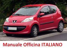 PEUGEOT 107 (2005/2014) Manuale OFFICINA Riparazione ITALIANO
