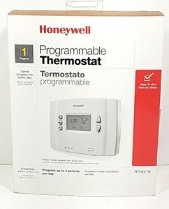 Honeywell Home RTH221B Programmable Thermostat, easy programing, White