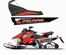 POLARIS 550 600 800 INDY SP LE 120 144 TUNNEL TANK DECAL STICKER red black