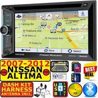 FITS NISSAN ALTIMA 2007-12 NAVIGATION BLUETOOTH CD/DVD USB AUX CAR RADIO STEREO