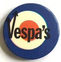 Old OG Vtg 70//80`s Button Pin Badge 32mm Mod Target MODS NOT Ska Punk