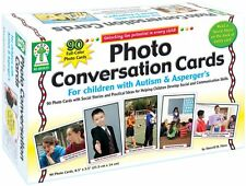 Autism Game Photo Conversation Cards Toys Sensory Special Needs Asperger's New