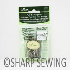 FORK BLOCKING PINS 40 PIECES #3163 by CLOVER