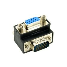 270 Degree Right Angled VGA Male To Female Extension Extender Video Adapter