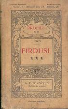 Pizzi: Firdusi.  Profili  Formiggini 1911
