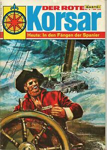 DER ROTE KORSAR Band-9,10,11--Von Bastei Verlag.