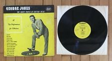 "George Jones ""The Crown Prince Of Country Music"" Starday SLP-125 12"" vinyl Lp"