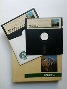 """The Colonel's Bequest : A Laura Bow Mystery, Sierra, IBM PC/MS-DOS, 3.5"""" disks"""