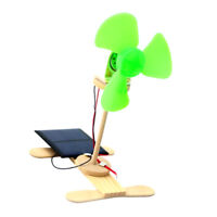 Novelty Toy DIY Solar Powered Electric Fans Model Experiment Kits Gadgets