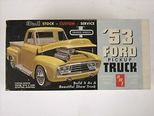 Vintage AMT 3in1 53 Ford Pickup Truck 1:25 Scale Model Kit #2153
