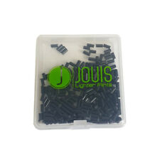 100x Jouis Black Lighter Flints - Universal Lighter Flints